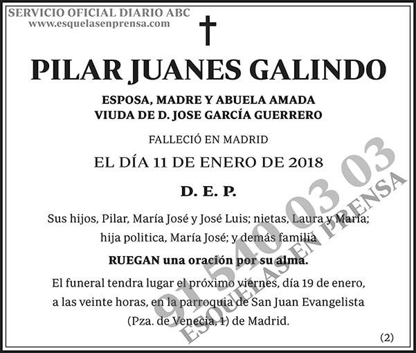 Pilar Juanes Galindo